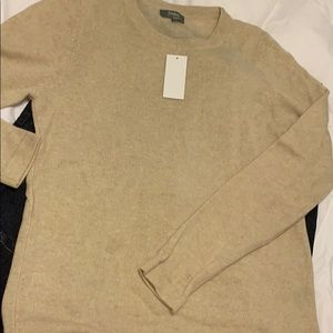 NWT cashmere long sleeve sweater